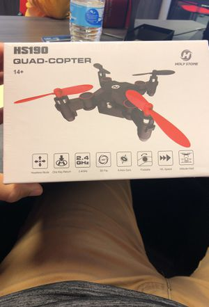 HolyStone HS190 foldable mini drone for Sale in Suffolk, VA
