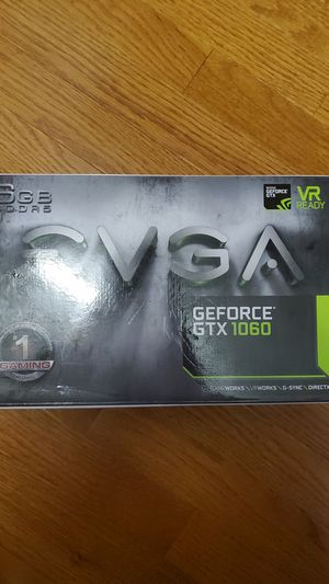 EVGA Geforce GTX 1060 6gb for Sale in Raleigh, NC