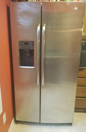 Working refrigerator Stainless Steel for Sale in Charlotte, NC