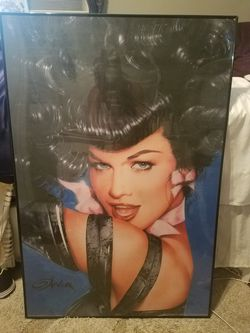 Large Betty Page poster for Sale in Wenatchee,  WA