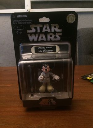 Star Wars Star Tours Disney Mickey Mouse as Luke Skywalker action figure for Sale in Puyallup, WA
