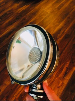Giant vintage bicycle headlight lamp antique bike / car light battery large bright lantern motorbike motorized bicycle bike motobike bobber cruiser H for Sale in San Diego, CA