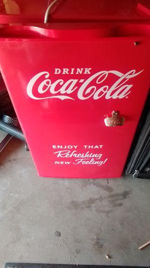 Mini cocoa cola fridge for Sale in Los Angeles, CA