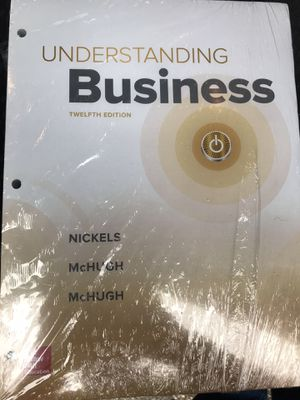Understanding Business 12th Edition for Sale in Terre Haute, IN