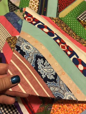 """9 vintage fabric Quilt Block 12"""" Squares for Sale in Spokane, WA"""
