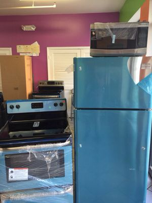 Stainless steel kitchen set for Sale in Barton, NY