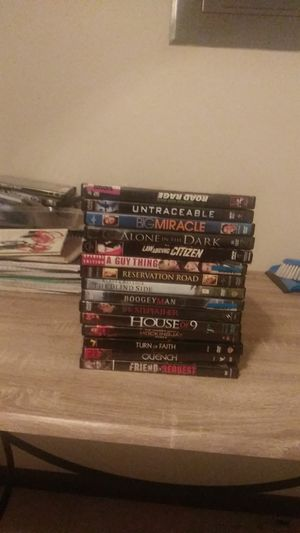 15 assorted DVDs all in great condition for Sale in Chippewa Falls, WI