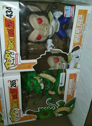 great ape vegeta fall convention/shenron galactic toys exclusive dragonball z funko pop for Sale in Los Angeles, CA