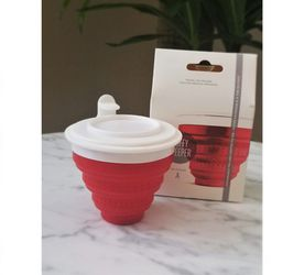 Reusable Silicone Tea Steeper Filter, Red - New for Sale in Cape Coral,  FL