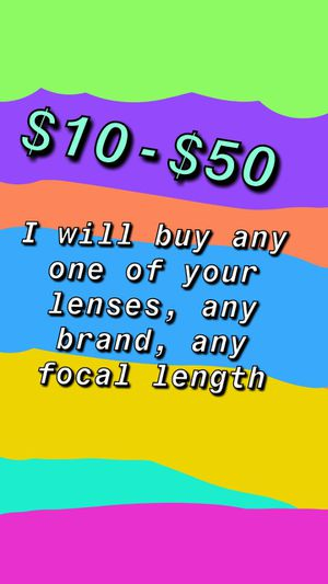 I will buy your lenses for Sale in Pompano Beach, FL