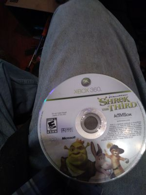 XBOX 360 SHREK GAME THE THIRD for Sale in Columbus, OH