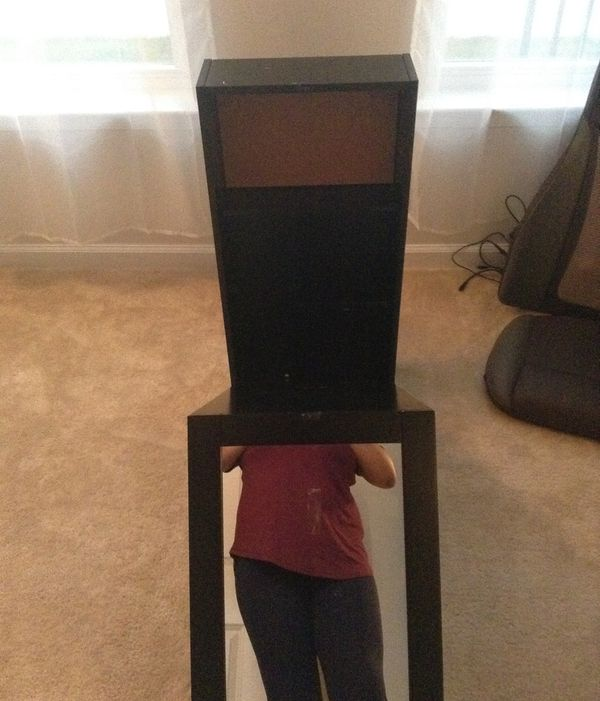 (2) desk mirrors