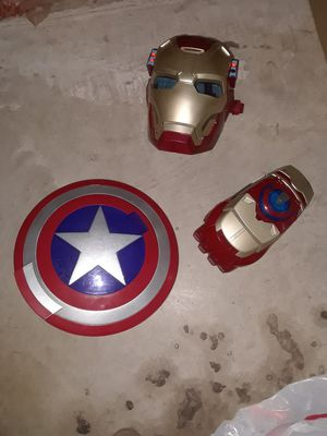 Iron Man and Capt America toys for Sale in McKinney, TX