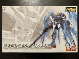 Bandai RG 1/144 Wing Gundam Zero EW - Pearl Gloss Ver. for Sale in Santa Ana, CA