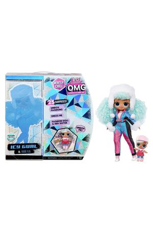 LOL SURPRISE OMG Winter Chill Icy Gurl & BRRR B.B Doll With 25 SURPRISES for Sale in The Bronx, NY