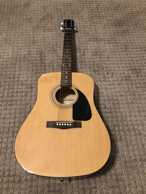 Fender acoustic guitar for Sale in Fresno, CA