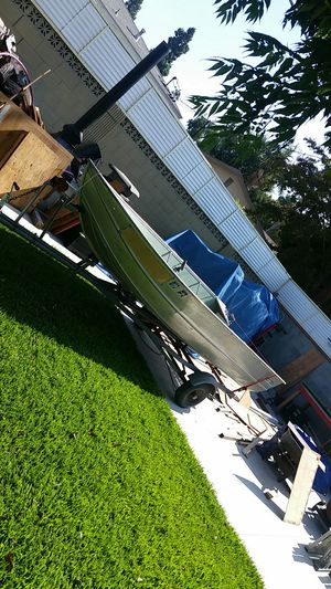 Aluminum boat 13 foot for Sale in Whittier, CA
