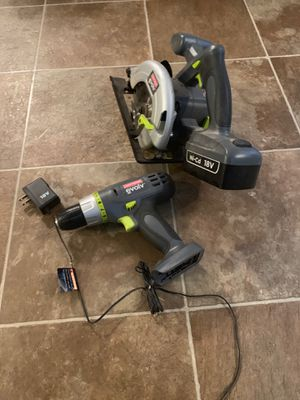 Tools cordless drill and saw for Sale in Warsaw, IN