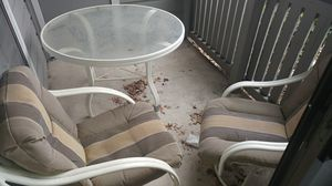 Patio furniture with 2 chairs for Sale in Austin, TX