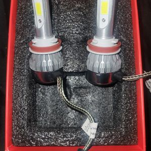 Clear White Bright Led Lights 9006/9007/ 9005 /H11/H4/5202/H7/H13/H3 for Sale in Los Angeles, CA