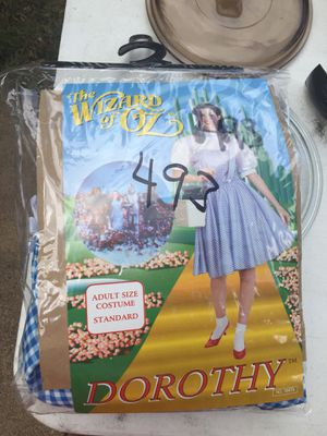 Halloween Costume - Dorothy Wizard of OZ for Sale in Dallas, TX