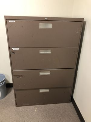 Large 4 Drawer File Cabinet for Sale in Chesapeake, VA