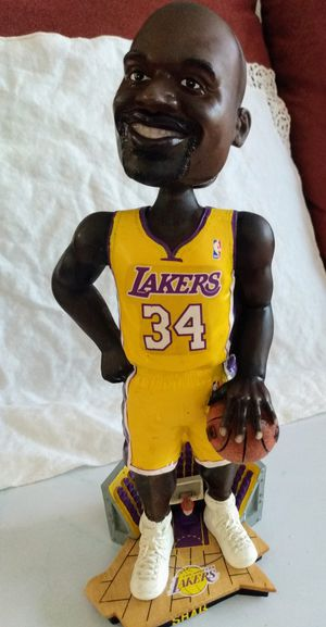 Shaquille O'Neal Exclusive Legends of The Court 2002 NBA Champions Bobble Head for Sale in Carlsbad, CA