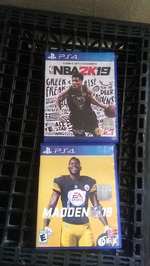 new PS4 games for Sale in Fresno, CA