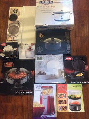 Kitchenware pots, pans, steamers, slow cookers, and more! for Sale in Los Angeles, CA