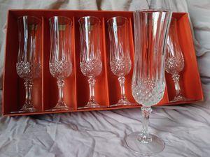 Vintage Crystal Stemware for Sale in Silver Spring, MD