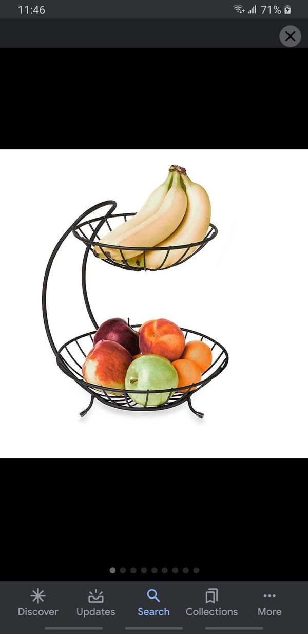 Fruit tray, paper towel holder and wipes Dispenser