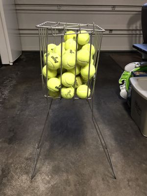 Tennis Ball Collector with Balls for Sale in Keizer, OR