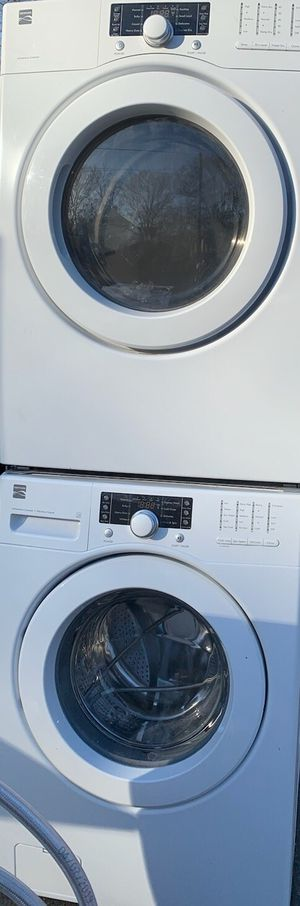 Kenmore stackable washer and dryer for Sale in Durham, NC