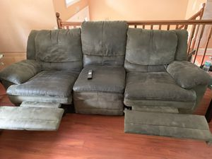 Sectional couch with 4 reclining seats for Sale in Blackwood, NJ