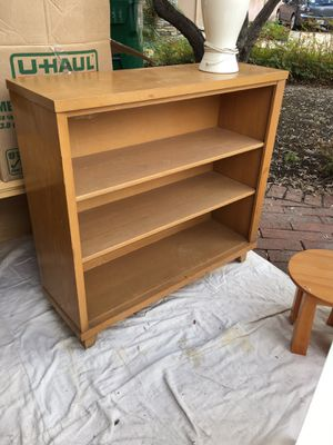 Pine bookcase-vintage for Sale in Lake Forest, CA