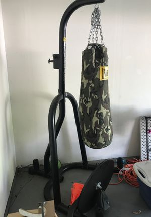 Punching bag with speed bag for Sale in Caseyville, IL