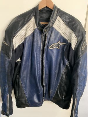 Alpinestars Leather Motorcycle Jacket (46) for Sale in Arcadia, CA