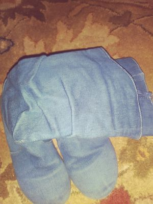Girls size 13 jean material boots for Sale in Egg Harbor City, NJ