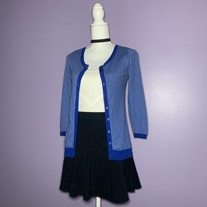 Blue Striped Cardigan for Sale in Royal Oak, MI
