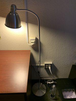 IKEA silver long neck lamp for Sale in Atlanta, GA