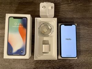 Apple iPhone X 256gb Space Gray Unlocked Excellent Condition for Sale in Las Vegas, NV