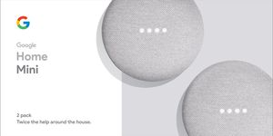 Google Home Mini (Set of 2) in Chalk for Sale in Mount Rainier, MD