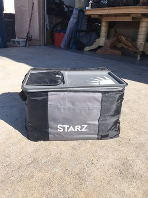 Starz back saver cooler with easy access top for Sale in Las Vegas, NV