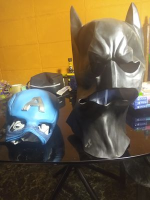 Batman or captain america masks for Sale in San Diego, CA