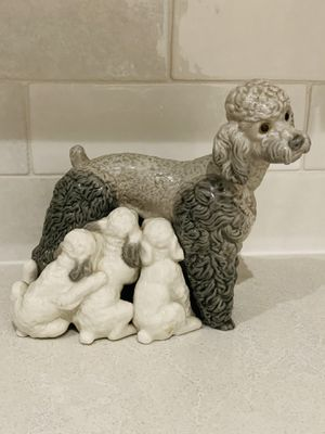LLADRO Poodle Figurines #1257 Unboxed for Sale in Houston, TX