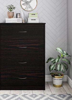 New!! Dresser, chest, wardrobe, 4 drawers dresser, storage unit, organizer, bedroom furniture , espresso for Sale in Phoenix, AZ