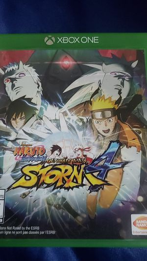 Naruto shippuden ultimate ninja strom 4 for Sale in Laveen Village, AZ
