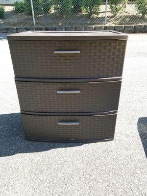Three drawer storage bin! for Sale in Renton, WA