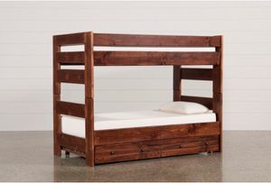 Wooden Bunk beds (no mattresses included) asking for 400, originally paid 800! Offers welcome. for Sale in Fontana, CA