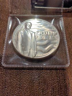1oz Fine .9999 Silver Bullion - Trump 2020 for Sale in Manassas,  VA